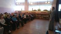 """Посещение школы № 21 с классным часом, посвященным дню """"Православной книги"""""""