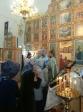 Архипастырь совершил Божественную литургию в Богородичном храме п.Толбазы