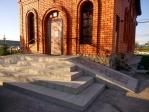 Благоустройство паперти в Храме Покрова Пресвятой Богородицы села Ерлыково