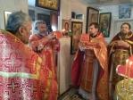 Архипастырское богослужение в селе Кожай Семёновка