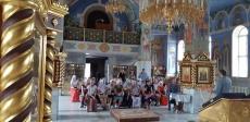 Огласительная беседа перед крещением в Успенском кафедральном соборе