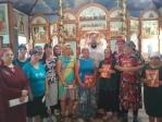 Участие инвалидов Психоневрологического интерната в богослужении