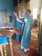 В храме в честь Покрова Божией Матери Мелеузовского района совершено очередное богослужение