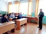 В  районной библиотеке села Толбазы состоялось мероприятие, посвящённое дню призывника
