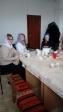 Добровольцы по социальной работе Свято-Троицкого храма г. Ишимбая посетили Михаило-Архангельский храм с. Зирган