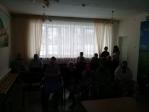 Киносеанс в ишимбайском доме престарелых