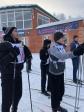 """Активисты православного молодежного движения """"Успенцы"""" приняли участие в V-ой юбилейной массовой лыжне Салаватской епархии"""