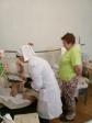 Дежурство в ЦГБ г. Ишимбая добровольцев Отдела ЦБСС епархии