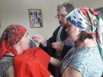 Причастие и беседа с пациентами ПНИ