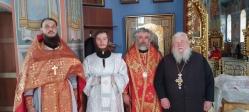 В среду Светлой седмицы Преосвященнейший епископ Николай совершил диаконскую хиротонию в Успенском кафедральном соборе