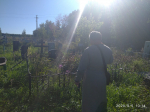 Уборка кладбища в селе Толбазы