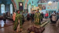 В день памяти преподобного Иова Почаевского Преосвященнейший епископ Николай совершил Литургию в храме г.Давлеканово