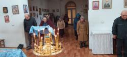 В храме Николая Чудотворца в Шафраново совершено очередное Богослужение в Двунадесятый праздник Рождества Божией Матери