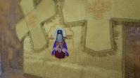 В дар молитвенной комнате в честь Святителя Луки Крымского преподнесен комплект богослужебных покровцов