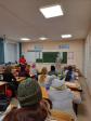 Штатный клирик Успенского кафедрального собора посетил родительское собрание по выбору модуля ОПК в школе №20