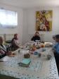 Рабочее собрание сестёр милосердия в Михаило-Архангельском храме с. Зирган