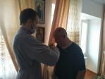 Посещение молитвенной комнаты в честь Великомученика Пантелеимона ПНИ города Салават