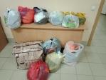 Гуманитарная помощь погорельцам с. Горный
