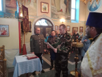 В Успенском храме п.Чишмы состоялось верстание казаков
