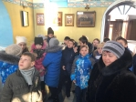Школьники посетили Успенский храм