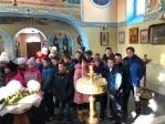 Школьники в Храме Успения Пресвятой Богородицы в Чишмах