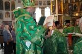 Архипастырское богослужение в престольный праздник в Иоанно-Предтеченском соборном храме г. Кумертау