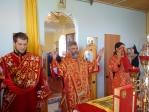 Епископ Николай совершил Божественную литургию в с. Чувашский Нагадак