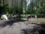 """Посещение Профильного военно-патриотического лагеря """"Ватан"""""""
