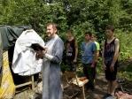 """В профильном военно-патриотическом лагере """"Ватан"""" состоялось крещение"""