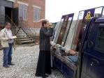 В храме села Манеево в честь Матроны Московской состоялось освящение витражей