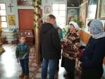 Поздравление пожилых прихожан 1 октября