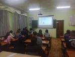 Беседа со студентами Мелеуза
