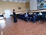 Священнослужитель в школе