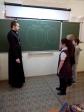 Штатный клирик Успенского кафедрального собора посетил «Среднюю общеобразовательную школу № 17.