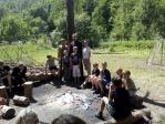 """Посещение профильного военно-патриотического лагеря """" Ватан"""""""
