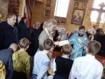 Епископ Салаватский и Кумертауский НИКОЛАЙ  совершил богослужение в храме с. Бугульчан