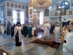 Епископ Салаватский и Кумертауский Николай совершил вечернее богослужение в Иоанно-Предтеченском соборном храме г. Кумертау