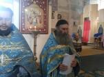 """В день празднования иконы Божией Матери """"Всех скорбящих Радосте"""" Преосвященнейший епископ Николай совершил Литургию в Богородичном храме в Андреевке"""