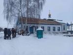 Начало строительных работ по замене кровли Свято-Троицкого храма с.Бижбуляк