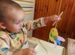 """Творческое занятие в центре помощи семье и детям """"Ярослава"""""""