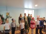 Рождественский концерт для прихожан храма в честь иконы Божией Матери «Державная» с. Маячный