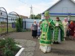 В день памяти прп.Сергия Радонежского Преосвященнейший епископ Николай совершил Литургию в храме в Исянгулово