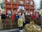 Школьники посетили Успенский храм в Чишмах