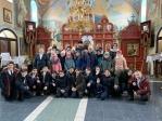 Очередное посещение школьниками Успенского храма в Чишмах
