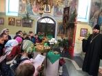 Очередное посещение школьниками Храма Успения Пресвятой Богородицы в Чишмах