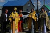В Неделю 7-ю по Пятидесятнице Преосвященнейший Владыка Николай совершил Литургию в Никольском храме с. Раевский