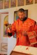 В день памяти великомученика Пантелеимона Преосвященнейший епископ Николай совершил Литургию в Михаило-Архангельском храме с.Старая Андреевка (Ильтеряково)
