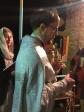 Пасхальное богослужение в храме в честь иконы Божией Матери «Спорительница хлебов» хутора Хлебодаровка Кугарчинского района
