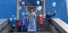 Праздник Благовещения в с. Нордовка