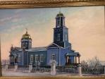 У храма новая икона